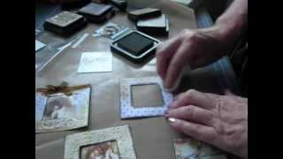 getlinkyoutube.com-With beginners in mind - a how to decorate the very easy and quick mini album