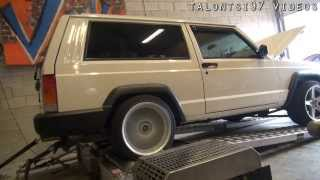 getlinkyoutube.com-200hp Supercharged Jeep XJ Cherokee dyno