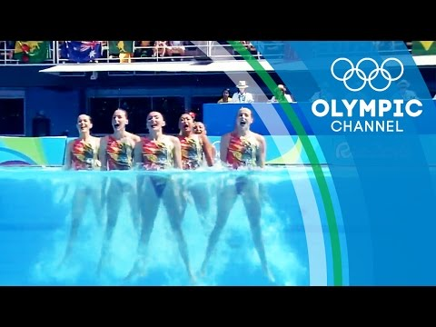 The camera technology bringing Synchronised Swimming to another level   The Tech Race