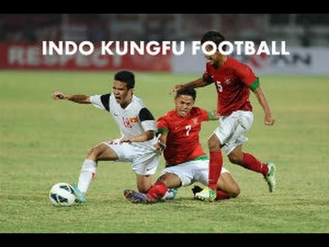 INDONESIA KUNGFU FOOTBALL  MATCH U-19 (INDONESIA  BERMAIN SEPAKBOLA KUNGFU )