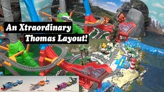Thomas and Friends Extraordinary Engines Trackmaster Layout!
