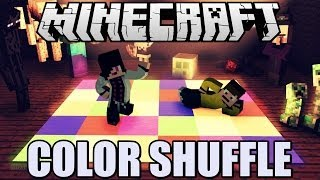 getlinkyoutube.com-Minecraft - COLOR SHUFFLE (Mini-Game) /w norbijo99