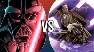 Versus Series | Darth Vader vs Mace Windu