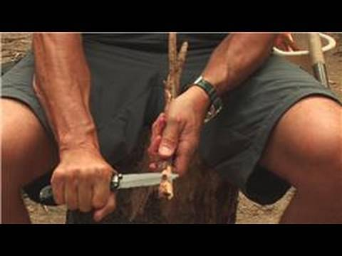 Camping & Backpacking : How to Use a Pocket Knife