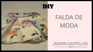 getlinkyoutube.com-Como Hacer Una Falda De Moda - Jazmín Gastelum