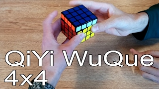 QiYi WuQue 4x4 Unboxing in a Library Feat. TheRubiksCubed