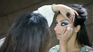getlinkyoutube.com-Asian Bridal makeup By Mus- Arabic inspired