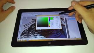 getlinkyoutube.com-Quick Cube i7 Stylus Adobe Photoshop test (Request)