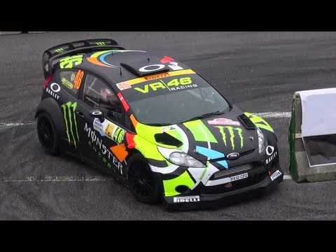 Valentino Rossi Ford Fiesta WRC - Monza Rally Show 2012 [HD]