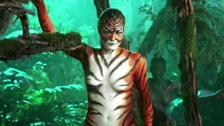 getlinkyoutube.com-Rebecca Romijn Body-Painted | Skin Wars Season 2 Premiere June 10!