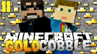 getlinkyoutube.com-Minecraft: GOLD COBBLESTONE MODPACK   Cobble Over Diamonds!! [11]