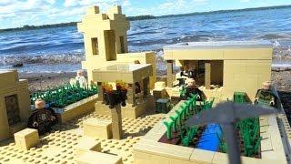 getlinkyoutube.com-LEGO Minecraft Sand Village