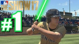 MAY THE SHOW BE WITH YOU! | MLB The Show 17 | Road to the Show #1