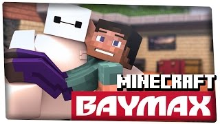 getlinkyoutube.com-Baymax in Minecraft (3D Animation) - 60fps