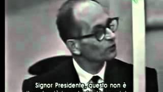 getlinkyoutube.com-Eichmann al processo in Israele riprese dal dibattimento