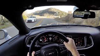 getlinkyoutube.com-2015 Dodge Challenger Hellcat SRT - WR TV POV Canyon Drive
