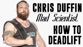 getlinkyoutube.com-DEADLIFT LIKE THE MAD SCIENTIST CHRIS DUFFIN