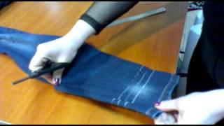getlinkyoutube.com-Как подшить джинсы?