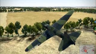 getlinkyoutube.com-IL 2 Sturmovik Battle of Stalingrad Epic Crashes and Fails Compilation Part 6