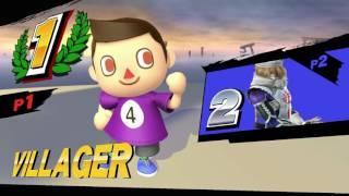 getlinkyoutube.com-Luke Snywalker (Corrin, Villager) vs Average07 (Sheik) - Anther's Ladder #5