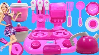getlinkyoutube.com-Cooking Toys For Kids - Toy Kitchen Set Cooking Playset For Children by Haus Toys