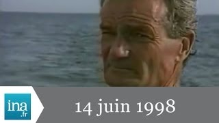 getlinkyoutube.com-20h France 2 du 14 juin 1998 - Dispartion d'Éric Tabarly - Archive INA