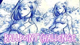 getlinkyoutube.com-Ballpoint ★ Challenge ★ Cheap Supplies [3]
