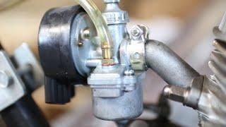 getlinkyoutube.com-How a Carburetor for Motorized Bicycles Work