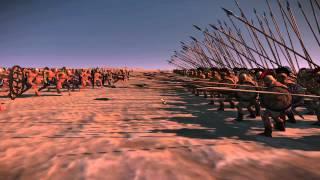 getlinkyoutube.com-Total War: Rome 2 - Charging a pike phalanx, HEAD ON!