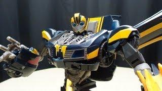 getlinkyoutube.com-Transformers Prime Beast Hunters TALKING BUMBLEBEE: EmGo's Transformers Reviews N' Stuff
