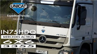 getlinkyoutube.com-UNICAT EX74 HDC - Mercedes Benz Actros 6X6