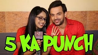 Mugdha And Ravish Take The 5Ka Punch Challenge