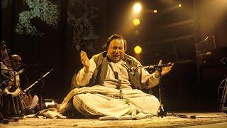 Best Qawwali of Nusrat Fateh Ali Khan | HD width=