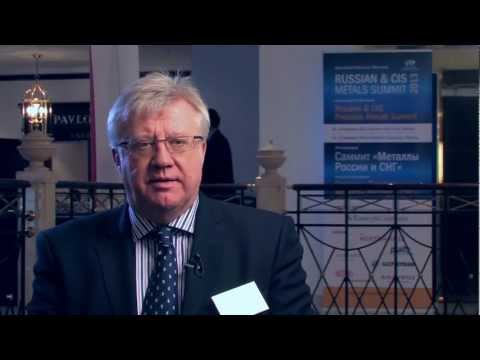 Richard White - Iron & Steel Statistics Bureau - ISSB at Russian Metals Summit 2013