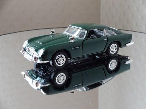 Aston Martin DB5 (Масштабная модель) 1:43 Hongwell