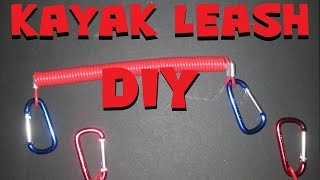 DIY Kayak Leash Super Inexpensive