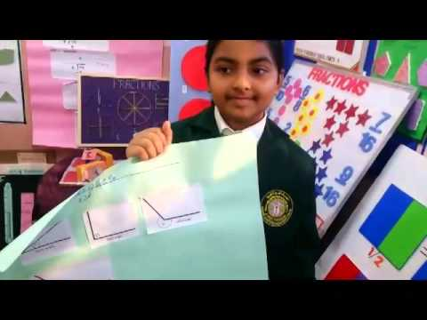 Fariya's  Maths project  exhibition demo