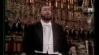 getlinkyoutube.com-Luciano Pavarotti - Ave Maria 1978