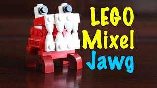 getlinkyoutube.com-LEGO MOC: Lego Mixels - Custom Jawg Dog
