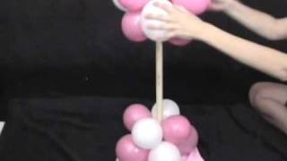 getlinkyoutube.com-Party Decorations - How to Make a Balloon Tree Decoration