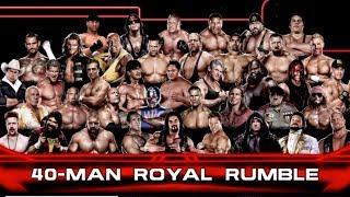 getlinkyoutube.com-WWE 2K14 Gameplay: 40-man Royal Rumble Match - Legend difficulty on Xbox 360