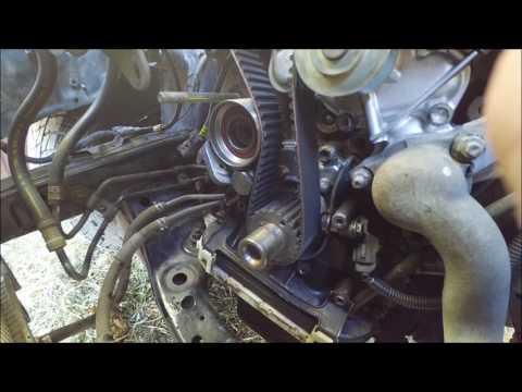 Замена ремня ГРМ на Toyota Land Cruiser Prado 95 5VZ-FE после покупки авто