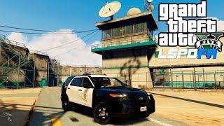 getlinkyoutube.com-GTA 5 Prison Escape Patrol - LSPDFR 0.2b #28