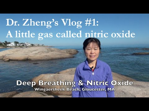 Vlog #1: A little gas called nitric oxide