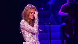 EXCLUSIVE   Céline Dion Breaking Down in Tears During 'All By Myself' 2016 HD
