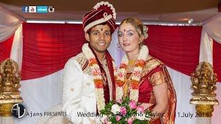 getlinkyoutube.com-Tamil Hindu Wedding | Romesh& Hayley