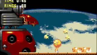 getlinkyoutube.com-Sonic 3 & Knuckles:Hyper Sonic,Super Tails,and Hyper Knuckles