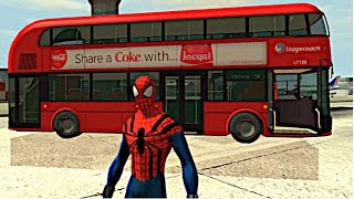 getlinkyoutube.com-Spiderman Wheels on the Bus Nursery Rhymes (Songs for Children with Action)  A+SuperheroSchool