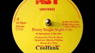"getlinkyoutube.com-Universe - Every Single Night (12"" Electro Disco-Funk 1984)"