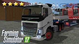 getlinkyoutube.com-Farming Simulator 2017 Truck Mods - New Volvo FH 16 6x4 with a Secret